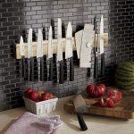 подставки для кухонных ножей идеи декора