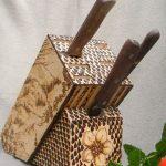 подставки для кухонных ножей варианты