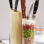 подставки для кухонных ножей фото идеи