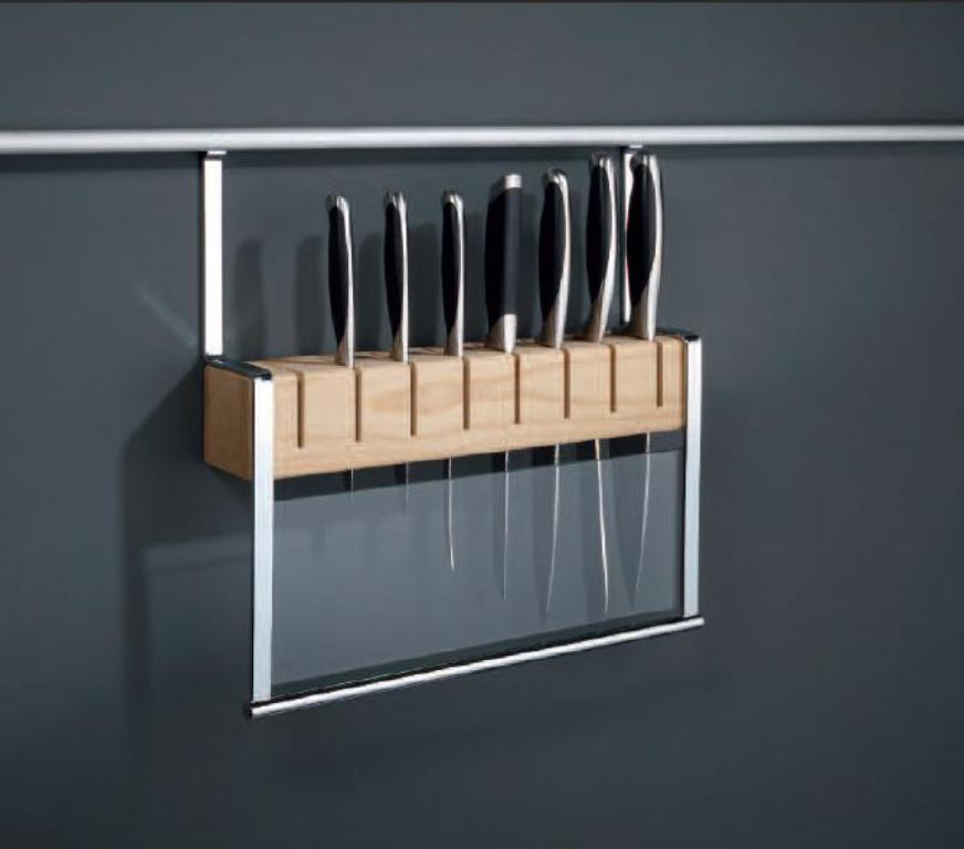 подвесная подставка для ножей