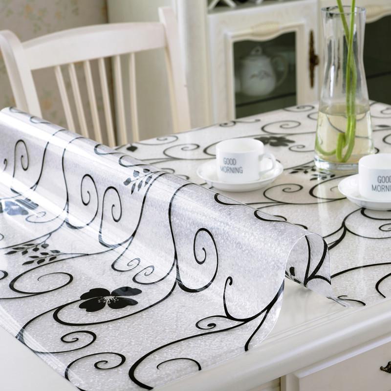 покрытие для кухонного стола мягкого стекло