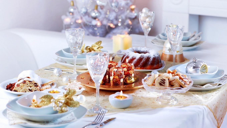 сервировка стола к десерту