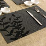 сервировочные салфетки коврики для тарелок