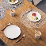 сервировочные салфетки коврики для тарелок фото