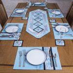 сервировочные салфетки коврики для тарелок фото декор
