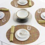 сервировочные салфетки коврики для тарелок идеи оформление