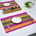 сервировочные салфетки коврики для тарелок фото варианты