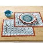 сервировочные салфетки коврики для тарелок фото вариантов