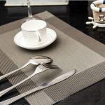 сервировочные салфетки коврики для тарелок идеи фото
