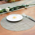 сервировочные салфетки коврики для тарелок виды