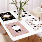 сервировочные салфетки коврики для тарелок фото видов
