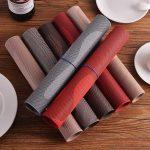 сервировочные салфетки коврики для тарелок идеи виды