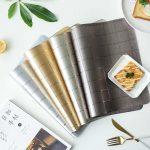 сервировочные салфетки коврики для тарелок идеи видов