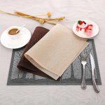 сервировочные салфетки коврики для тарелок фото обзоры