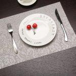 сервировочные салфетки коврики для тарелок фото дизайн