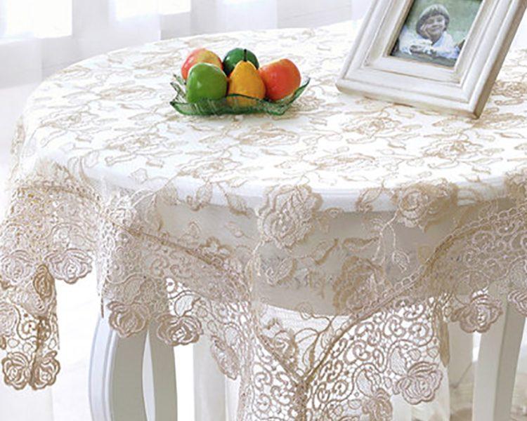 силиконовая скатерть на стол