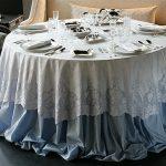 скатерть для круглого стола дизайн фото