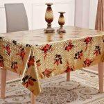 скатерть клеенка на стол для кухни декор фото