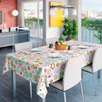 скатерть клеенка на стол для кухни фото декора