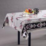 скатерть клеенка на стол для кухни виды дизайна