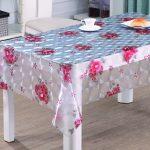 скатерть клеенка на стол для кухни идеи декора