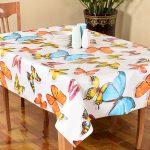 скатерть клеенка на стол для кухни фото оформления
