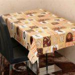 скатерть клеенка на стол для кухни варианты фото