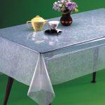 скатерть клеенка на стол для кухни варианты идеи