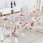 скатерть клеенка на стол для кухни фото виды