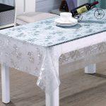 скатерть клеенка на стол для кухни фото обзор