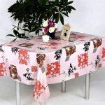 скатерть клеенка на стол для кухни фото обзоры