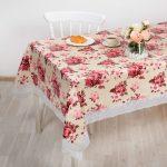 скатерть клеенка на стол для кухни фото дизайна
