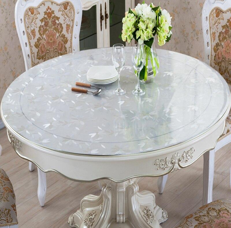 скатерть пвх на круглый стол