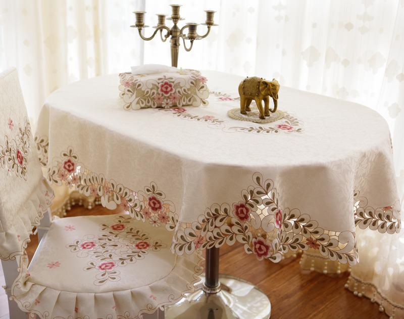 скатерть на стол кухни овальная