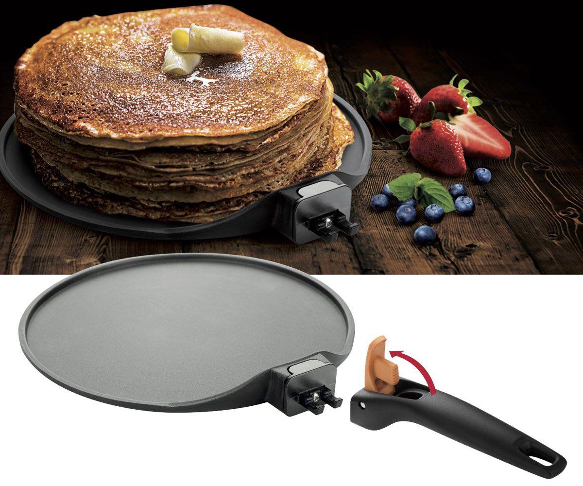 сковорода для блинов и оладий со съемной ручкой
