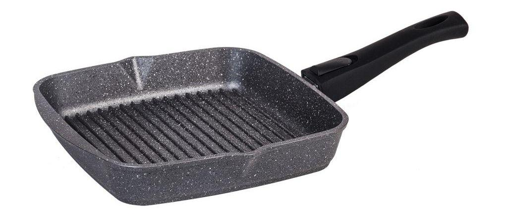 сковорода гриль гранитная