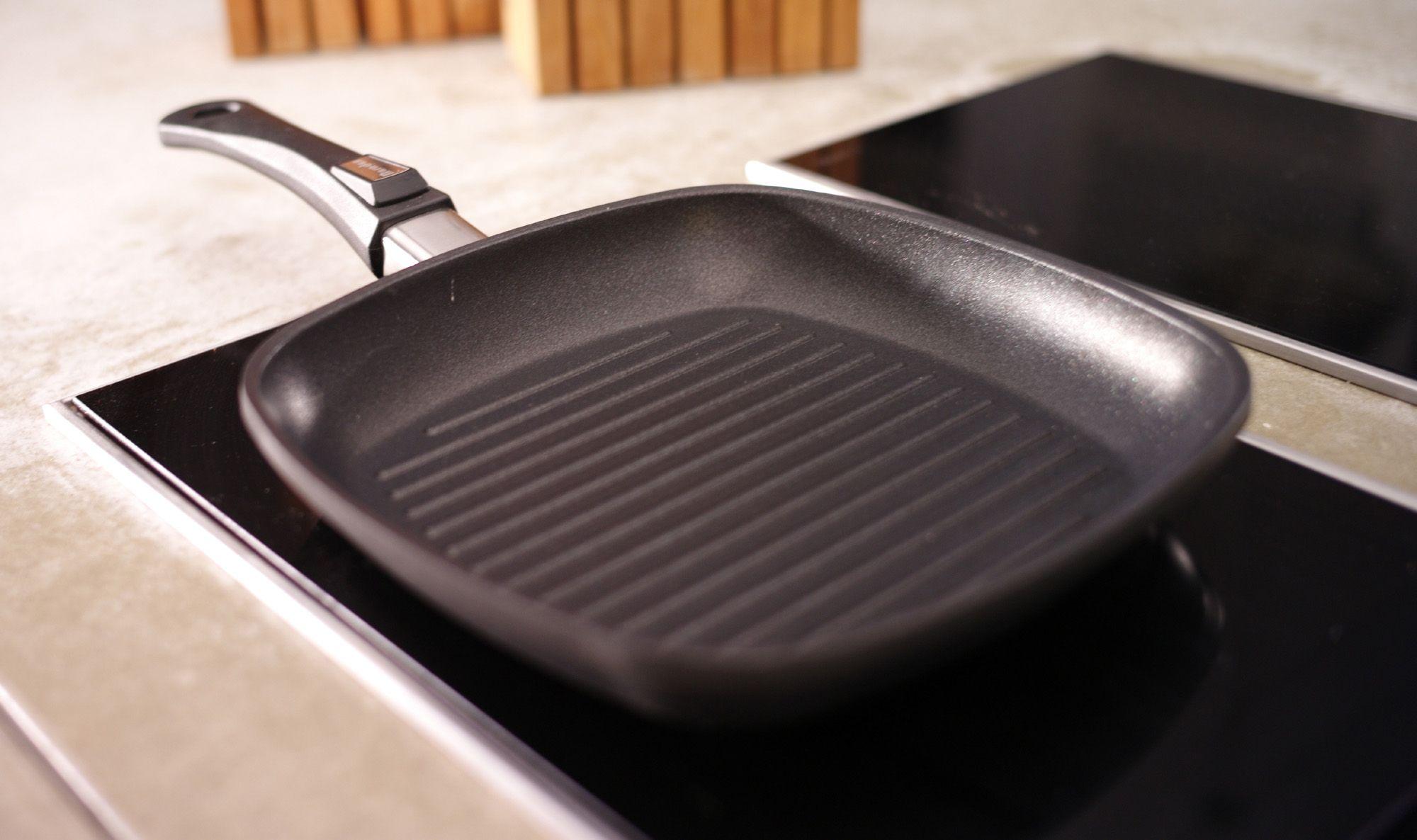 сковорода гриль как мыть