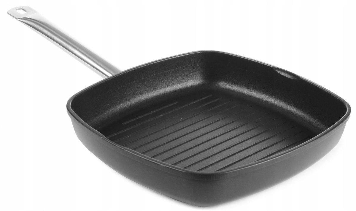 сковорода гриль титановая