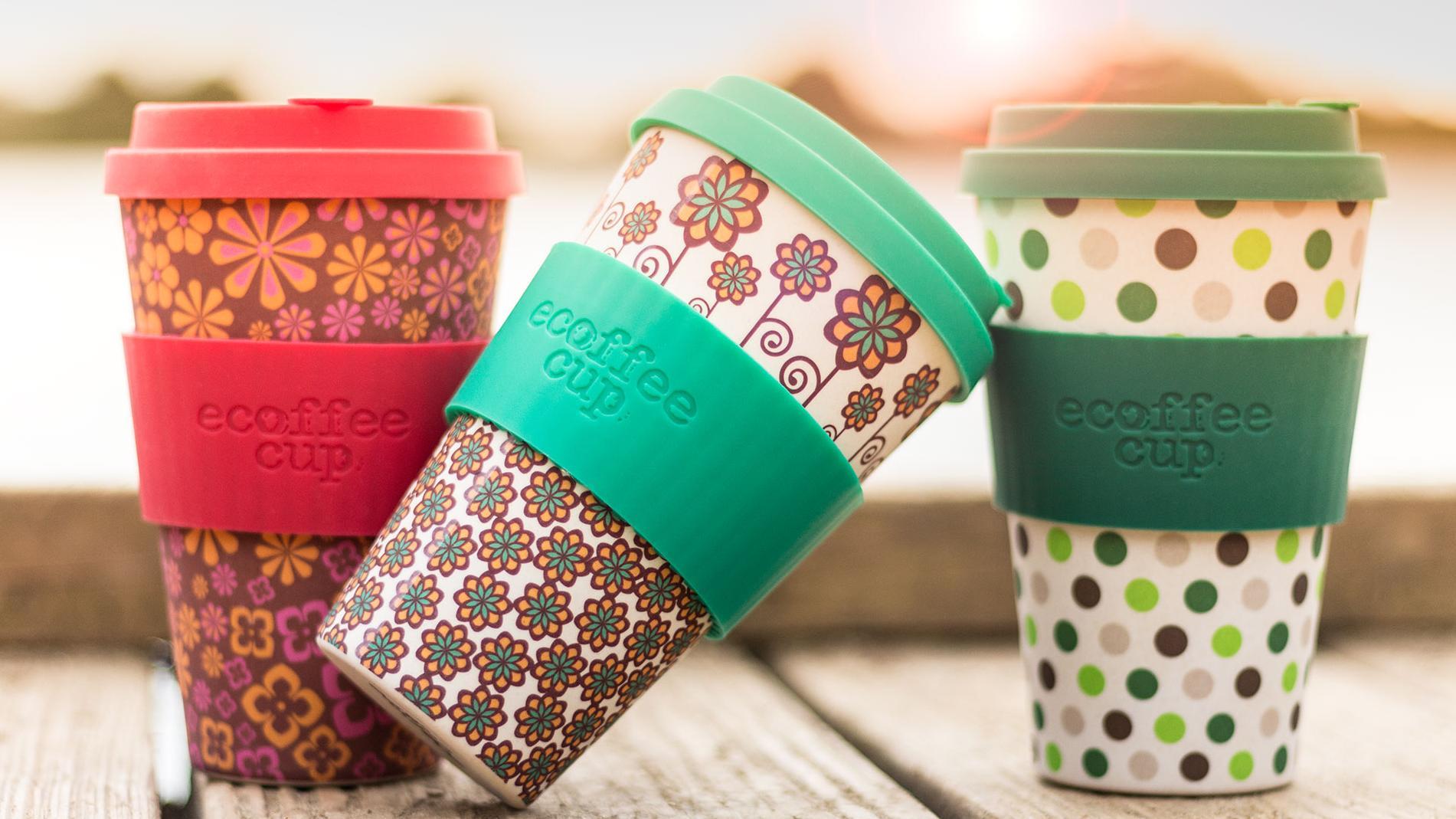 стаканы для кофе Ecoffee cup