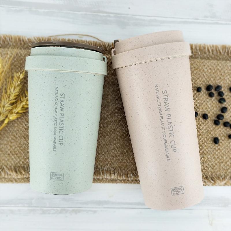 стаканы для кофе из рисовой шелухи