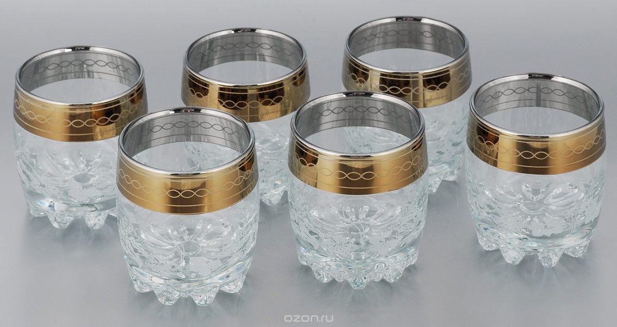 стаканы гусь хрустальный