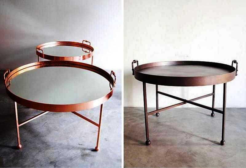 столик ля завтраков круглый