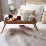 столик для завтрака в постель идеи оформление