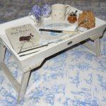 столик для завтрака в постель идеи декора