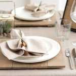 тарелки для сервировки стола фото варианты
