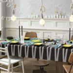 водостойкая скатерть на стол для кухни идеи оформления