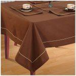 водостойкая скатерть на стол для кухни идеи