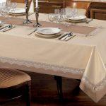 водостойкая скатерть на стол для кухни варианты идеи