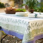 водостойкая скатерть на стол для кухни виды