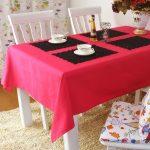 водостойкая скатерть на стол для кухни обзор